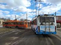 Тверь. ТролЗа-5275.05 №47, ЛиАЗ-5280 №14
