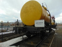 Екатеринбург. Двухосная цистерна