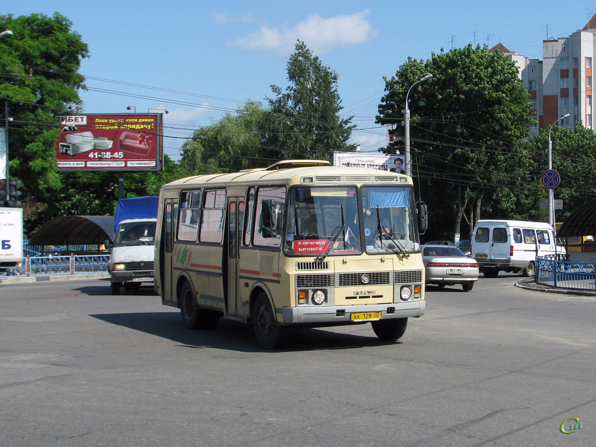 Брянск. ПАЗ-32054-07 ак128