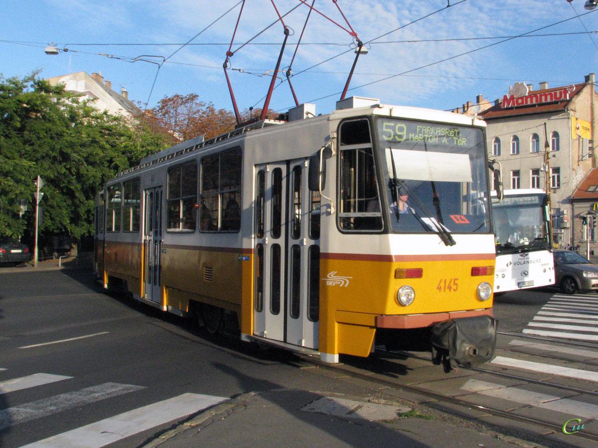 Будапешт. Tatra T5C5 №4145