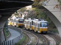 Будапешт. Tatra T5C5 №4012, Tatra T5C5 №4120, Tatra T5C5 №4040
