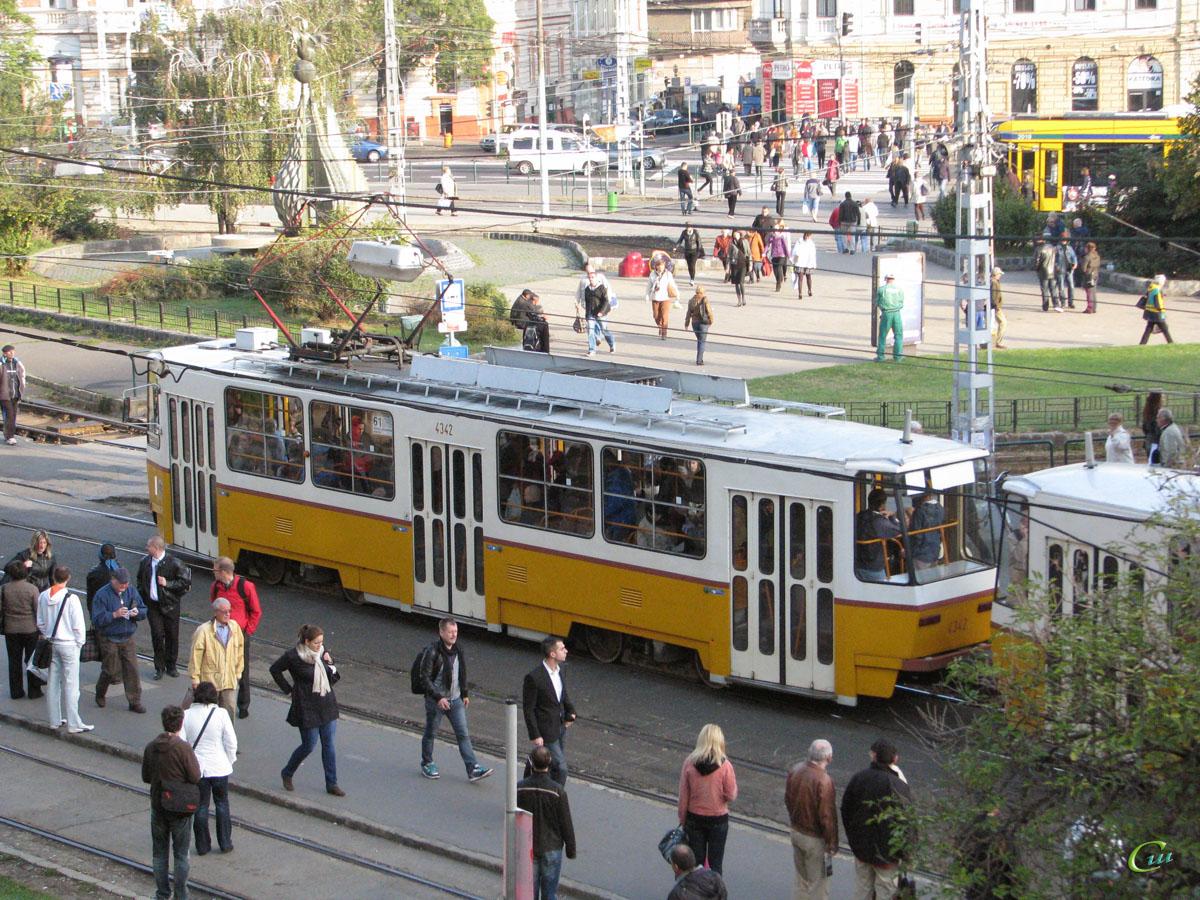 Будапешт. Tatra T5C5 №4342