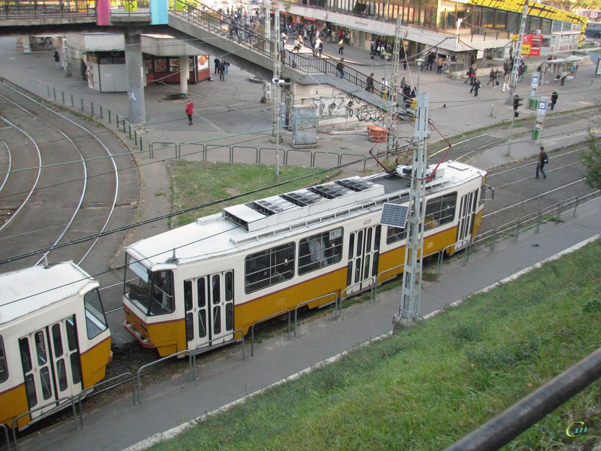 Будапешт. Tatra T5C5 №4028