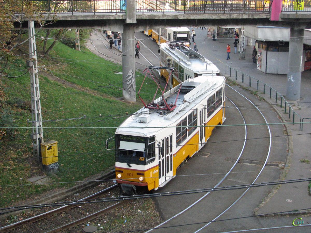 Будапешт. Tatra T5C5 №4072
