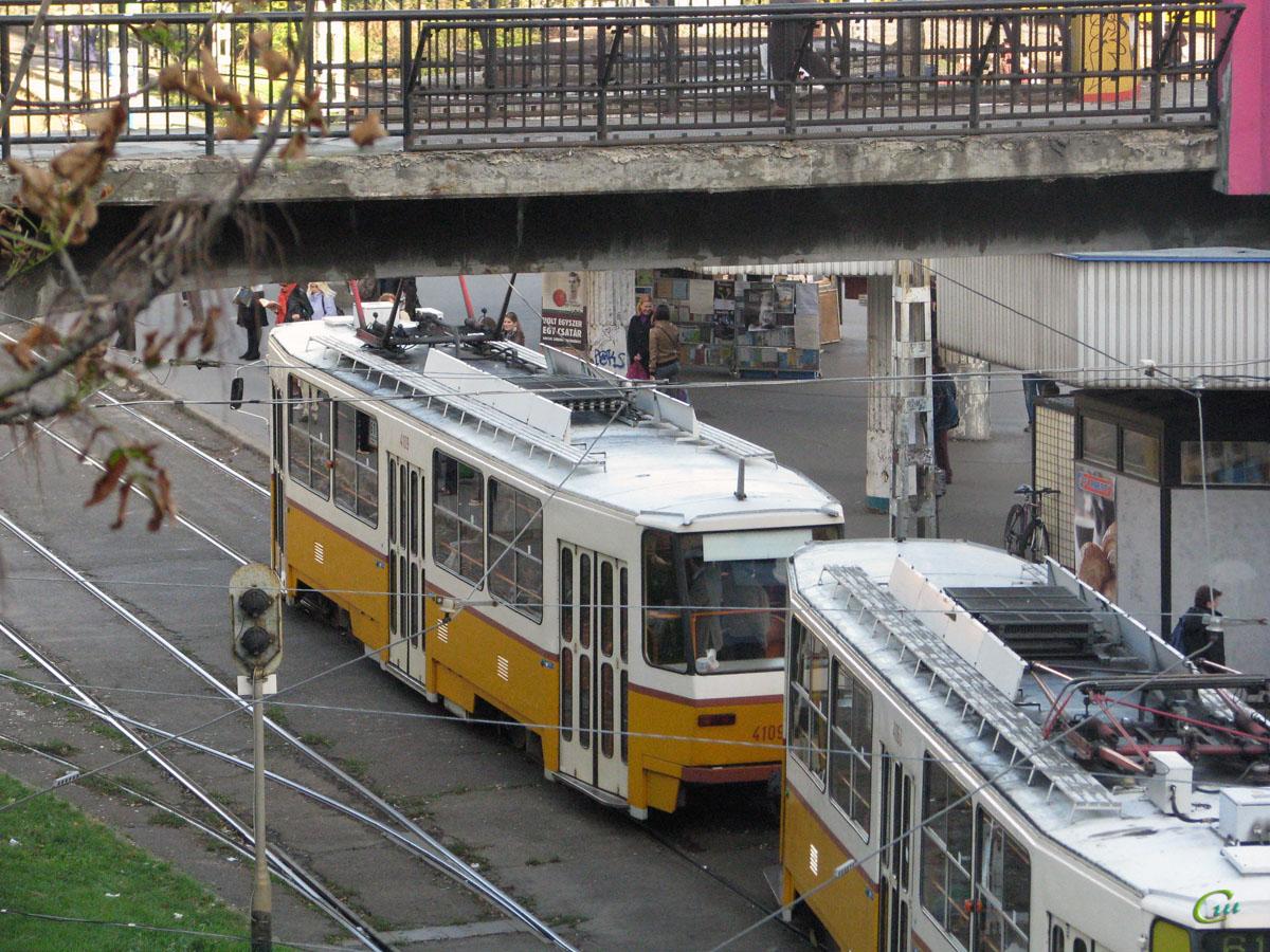 Будапешт. Tatra T5C5 №4109