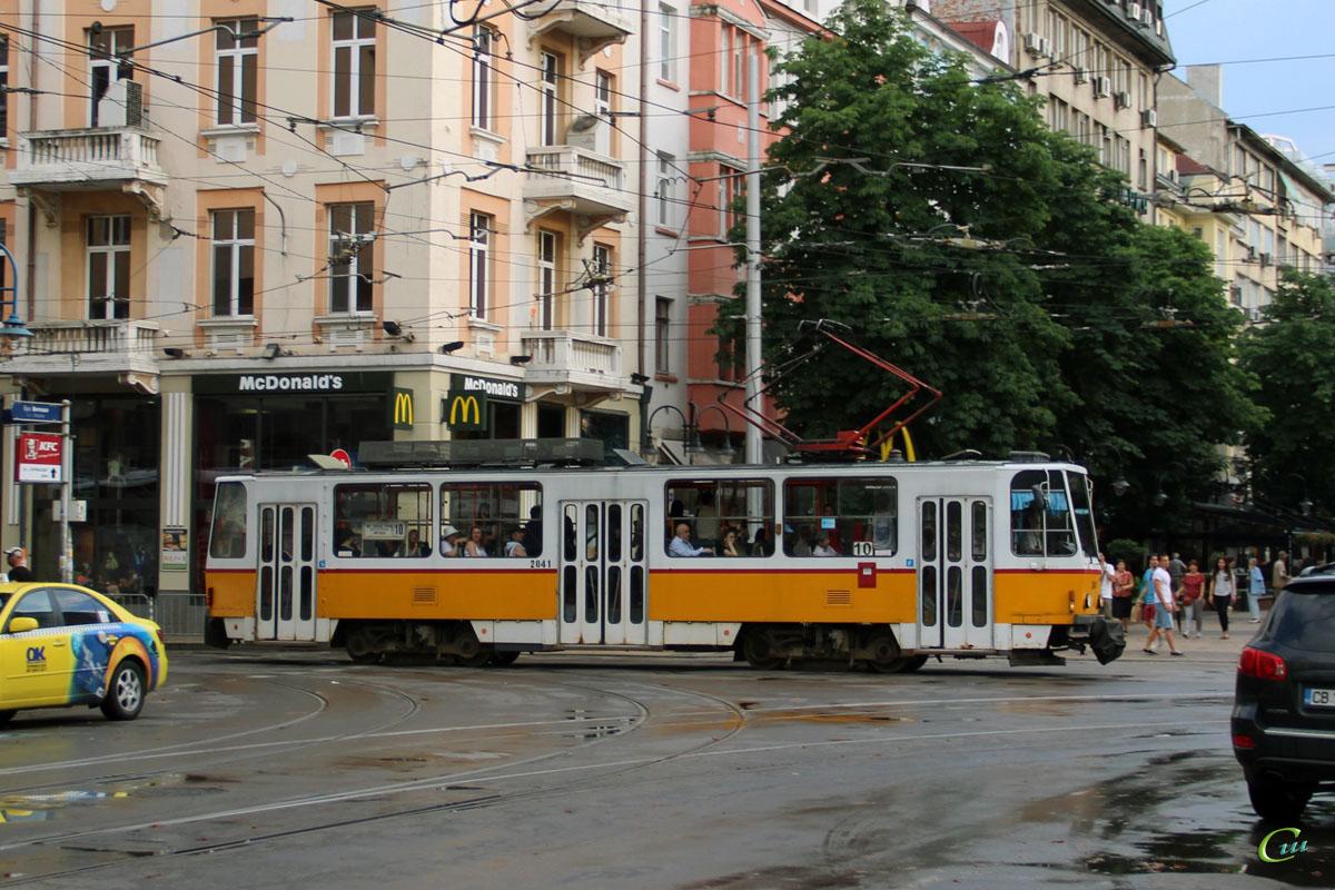 София. Tatra T6A2B №2041