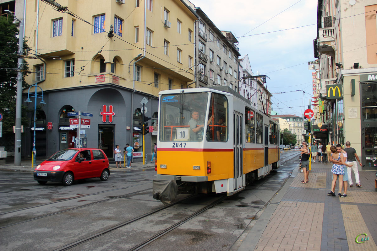 София. Tatra T6A2B №2047