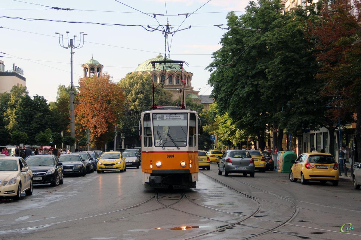 София. Tatra T6A2B №3007