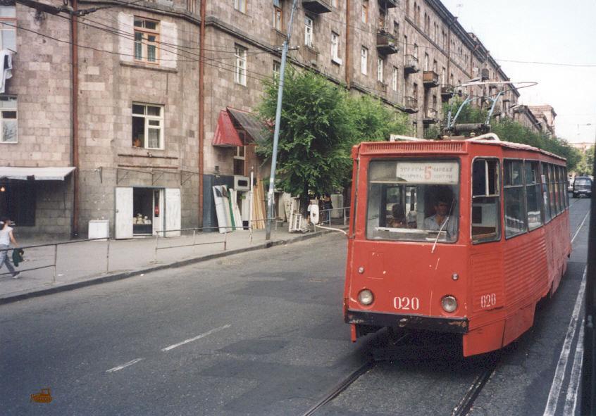 Ереван. 71-605 (КТМ-5) №020