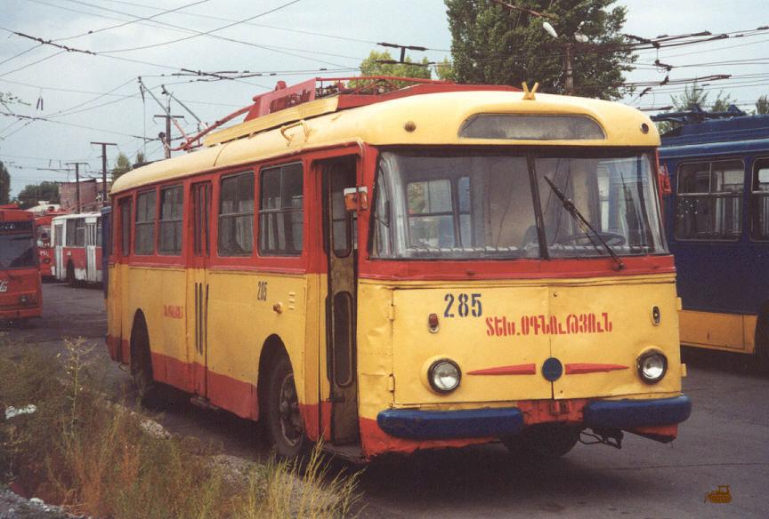 Ереван. Škoda 9Tr №285