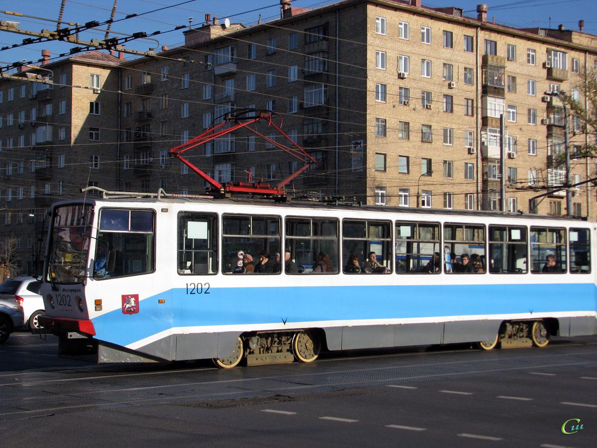 Москва. 71-608КМ (КТМ-8М) №1202