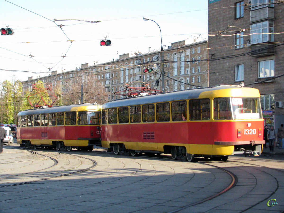 Москва. Tatra T3 (МТТЧ) №1319, Tatra T3 (МТТЧ) №1320