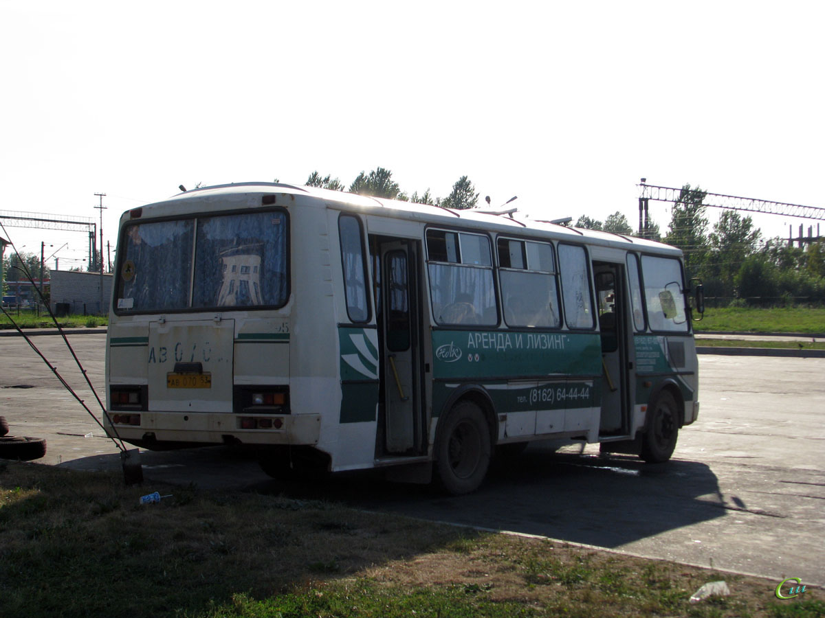 Великий Новгород. ПАЗ-4234 ав070