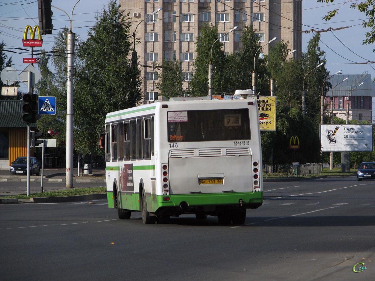 Великий Новгород. ЛиАЗ-5256.26 ас741