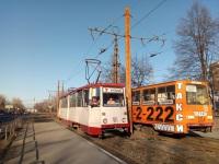 Челябинск. 71-605А (КТМ-5А) №411, 71-605 (КТМ-5) №2124
