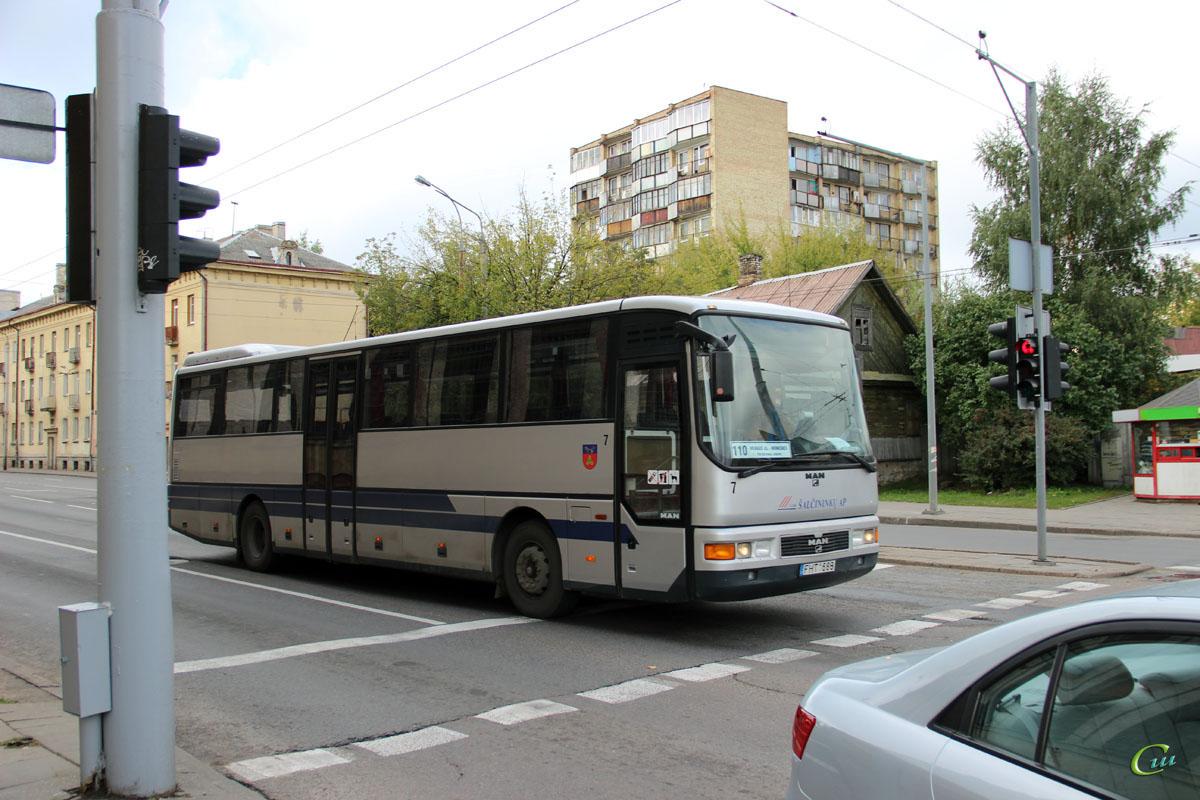 Вильнюс. MAN A01 ÜL313/353/363 FHT 688