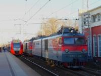 Тверь. ЭС2Г-032, ВЛ10-166