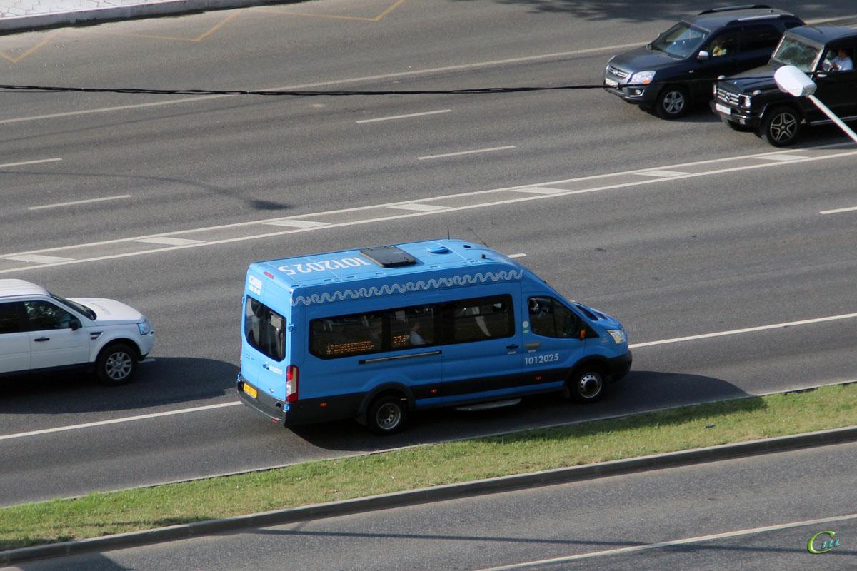 Москва. Sollers Bus (Ford Transit FBD) ху907