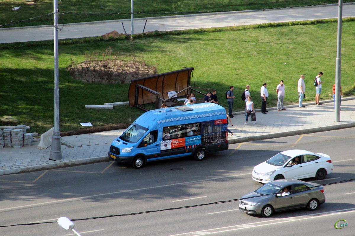 Москва. Sollers Bus (Ford Transit FBD) ху962