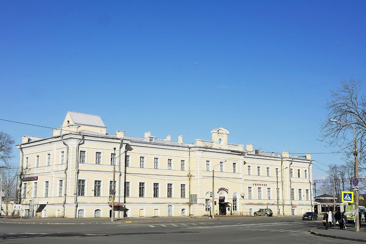 Санкт-Петербург. Вокзал станции Ораниенбаум