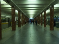 Москва. Последний день работы станции перед закрытием на реконструкцию