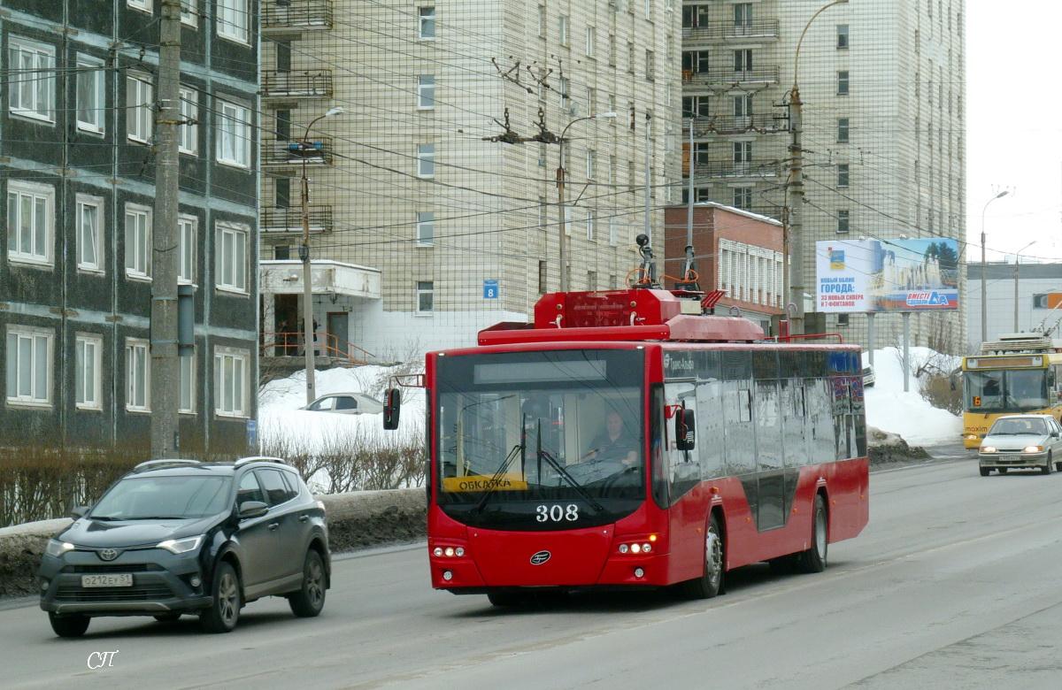 Мурманск. ВМЗ-5298.01 №308