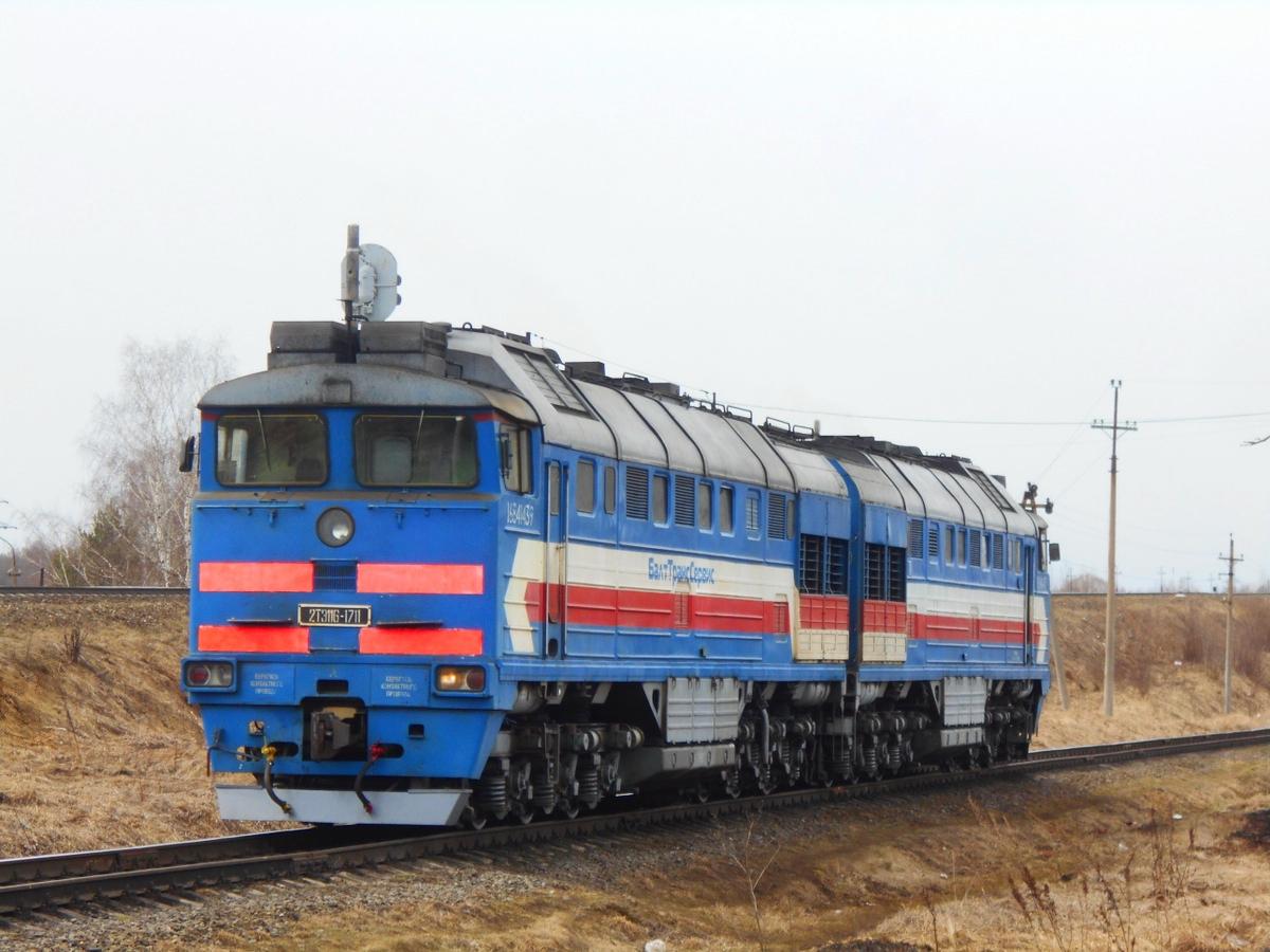 Ржев. 2ТЭ116-1711