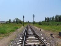 Феодосия. Перегон Айвазовская - Ближние Камыши