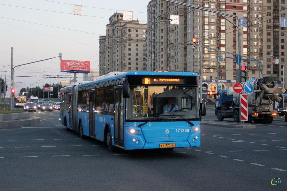 Москва. ЛиАЗ-6213.65 ук778