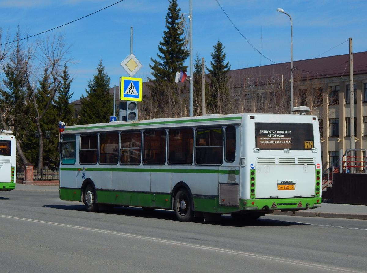 Ялуторовск. ЛиАЗ-5293.00 ам682