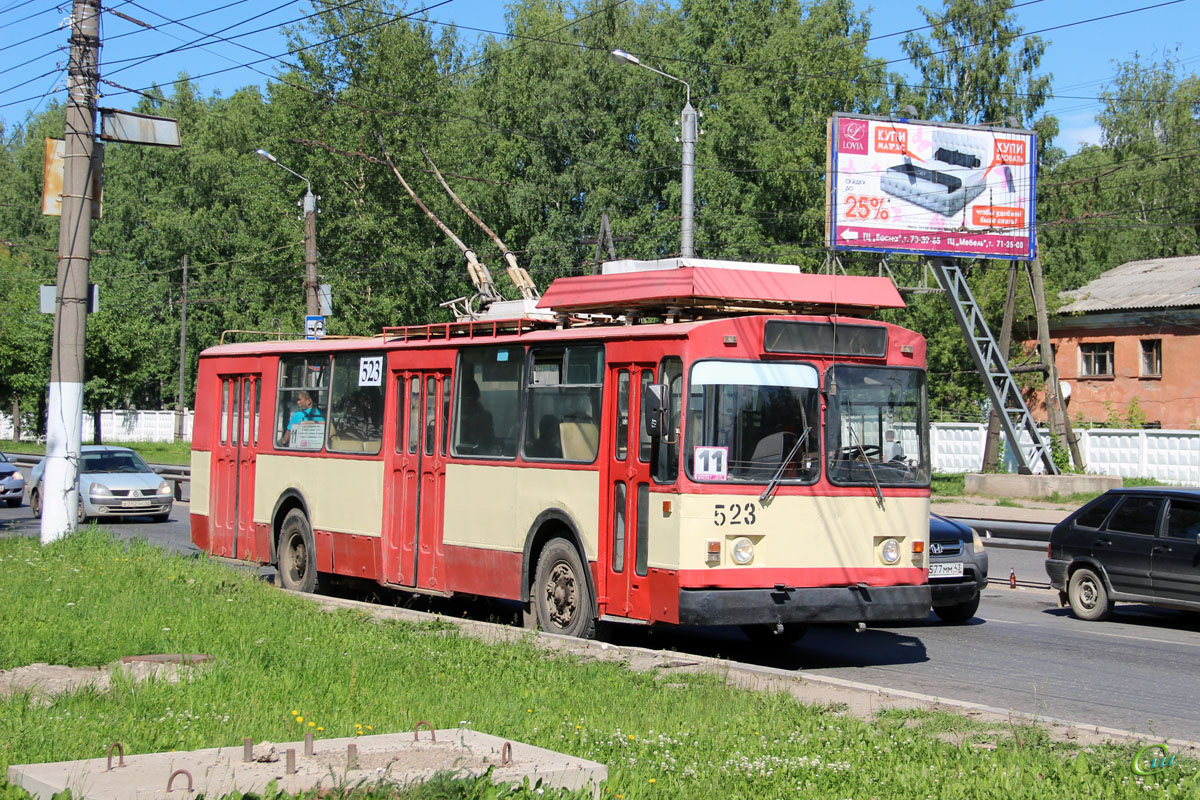 Киров. ЗиУ-682 КР Иваново №523