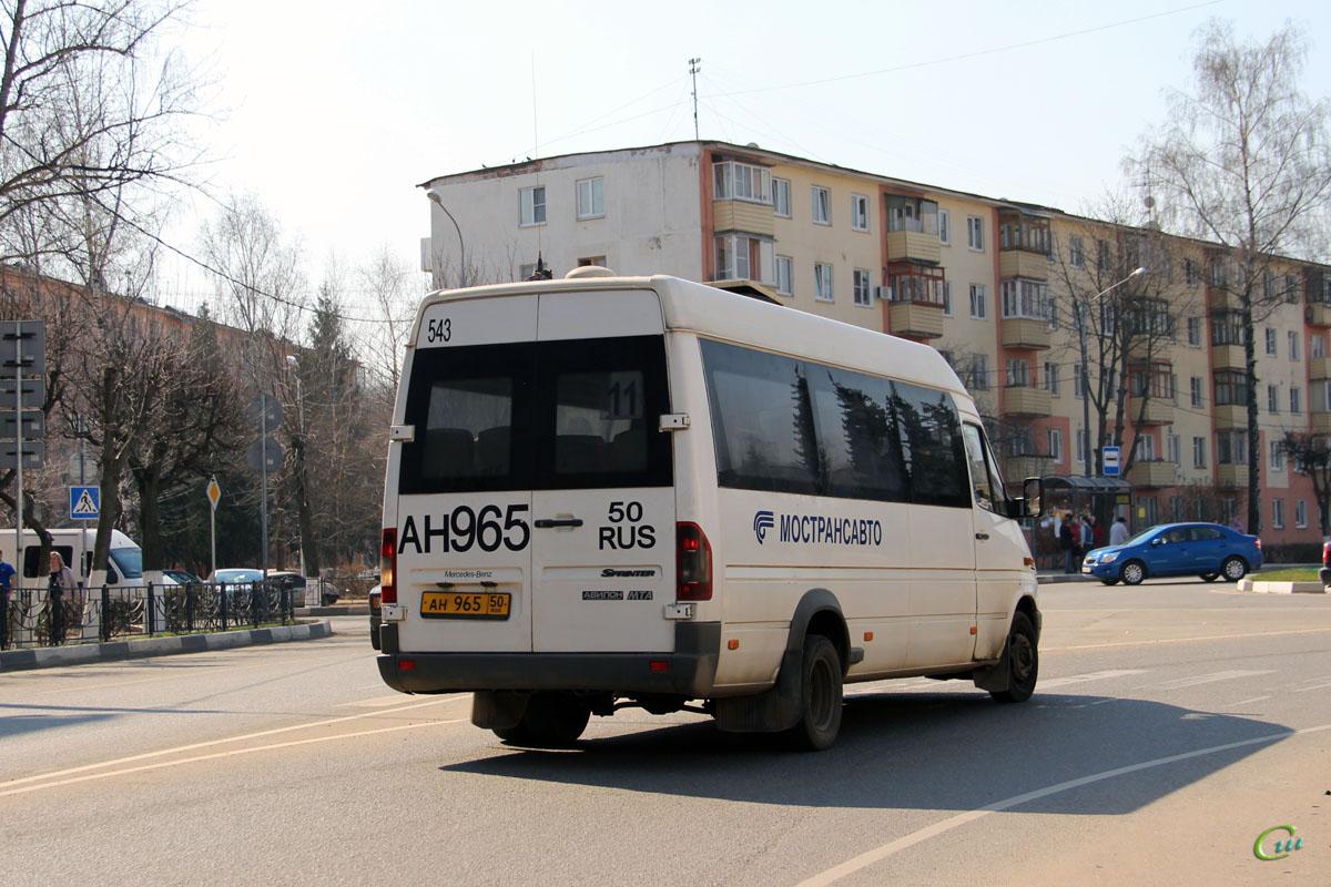 Клин. Самотлор-НН-323760 (Mercedes-Benz Sprinter) ан965