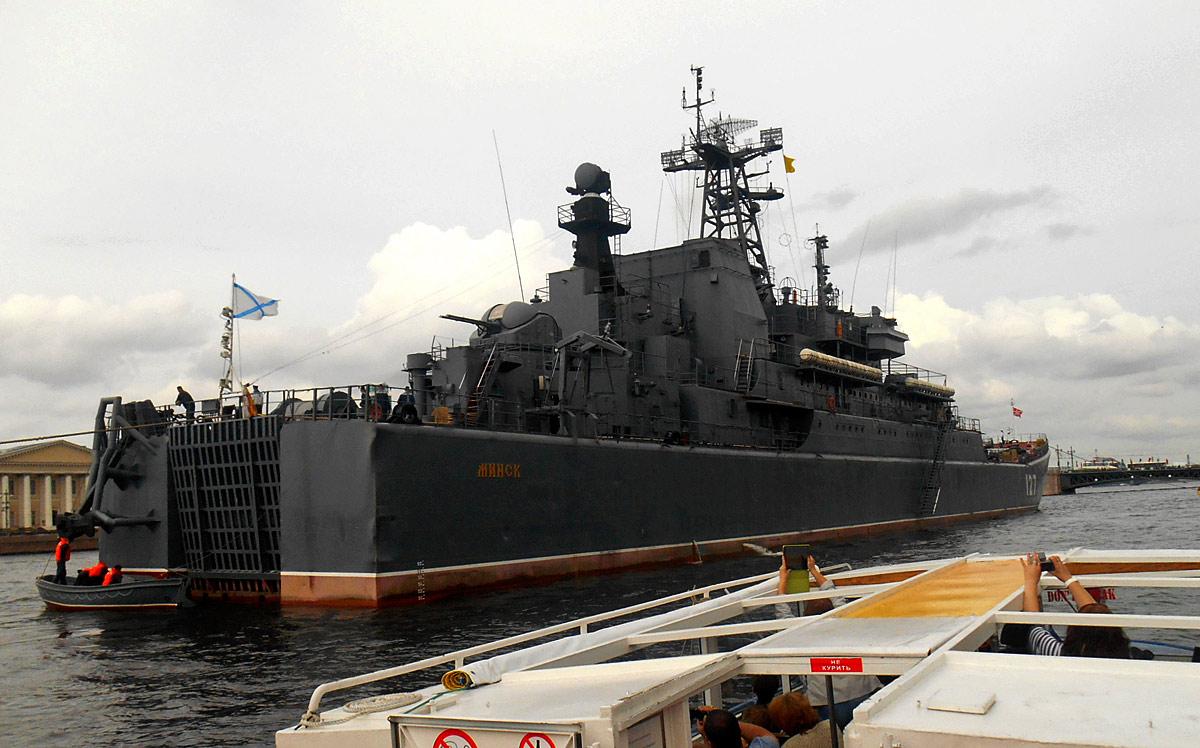 Санкт-Петербург. Большой десантный корабль «Минск» проекта 775/II