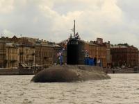 Санкт-Петербург. Дизель-электрическая подводная лодка Б-227 «Выборг» проекта 877 «Палтус»
