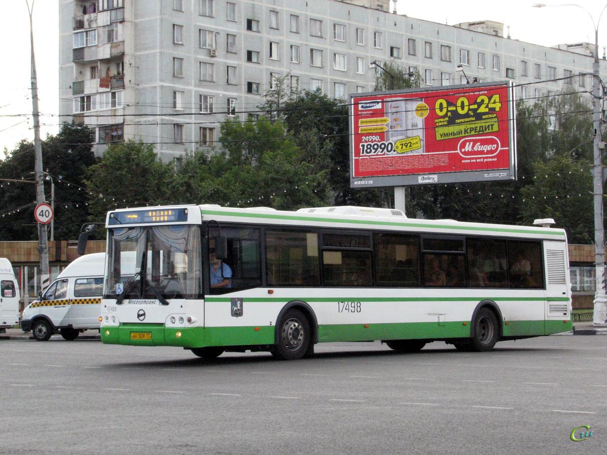Москва. ЛиАЗ-5292.22 ен509