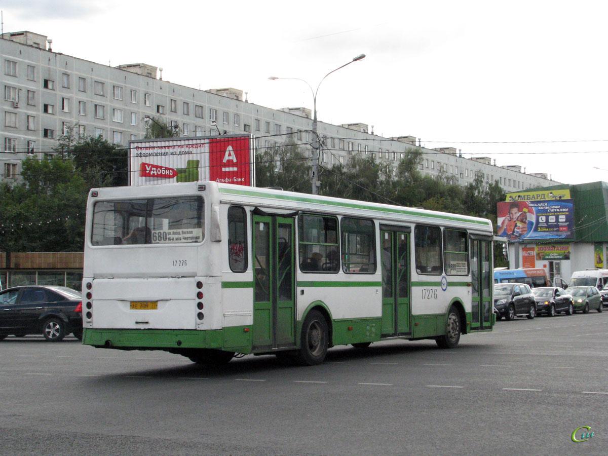 Москва. ЛиАЗ-5256.25 ае709