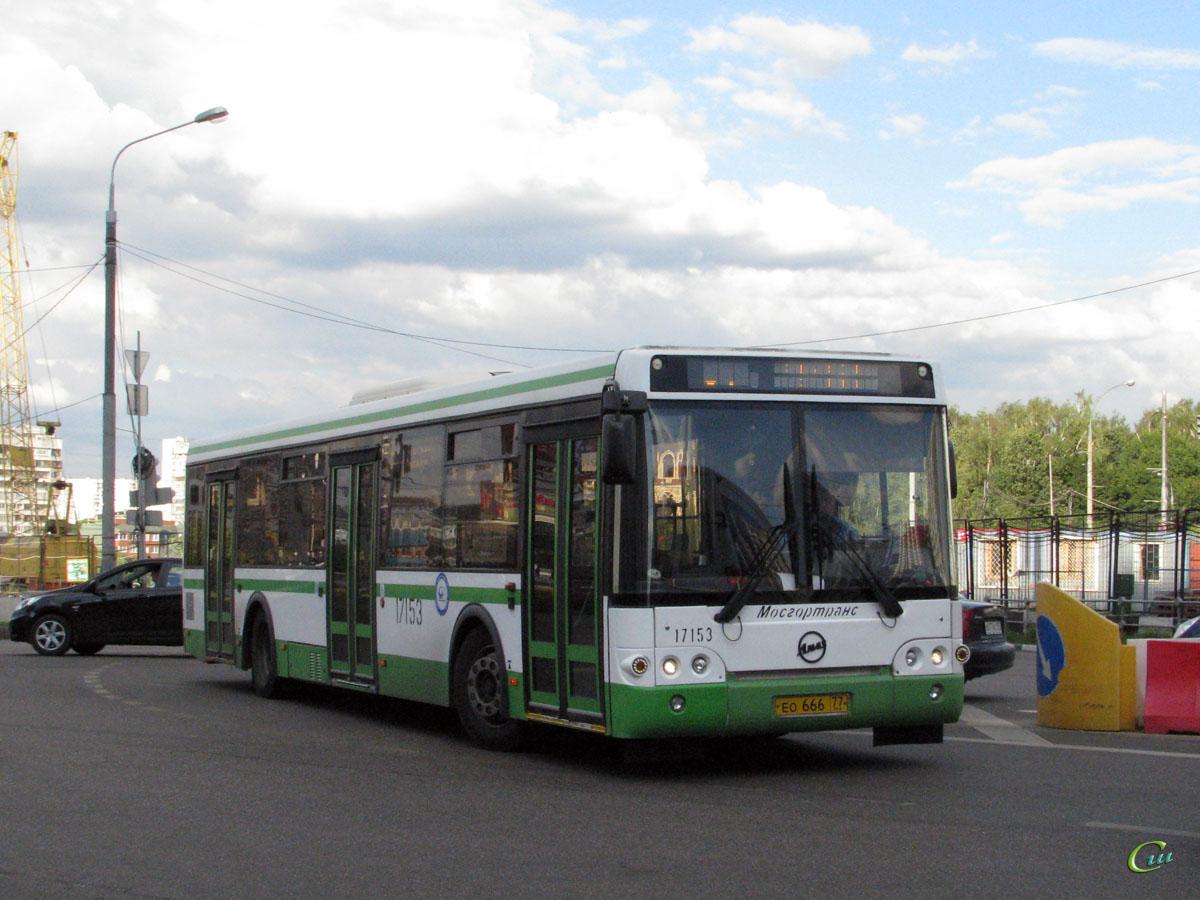 Москва. ЛиАЗ-5292.21 ео666