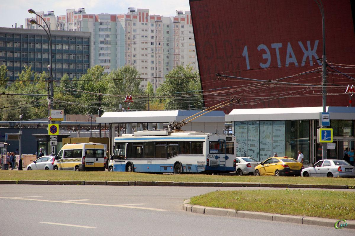 Москва. СВАРЗ-МАЗ-6235.00 №8839
