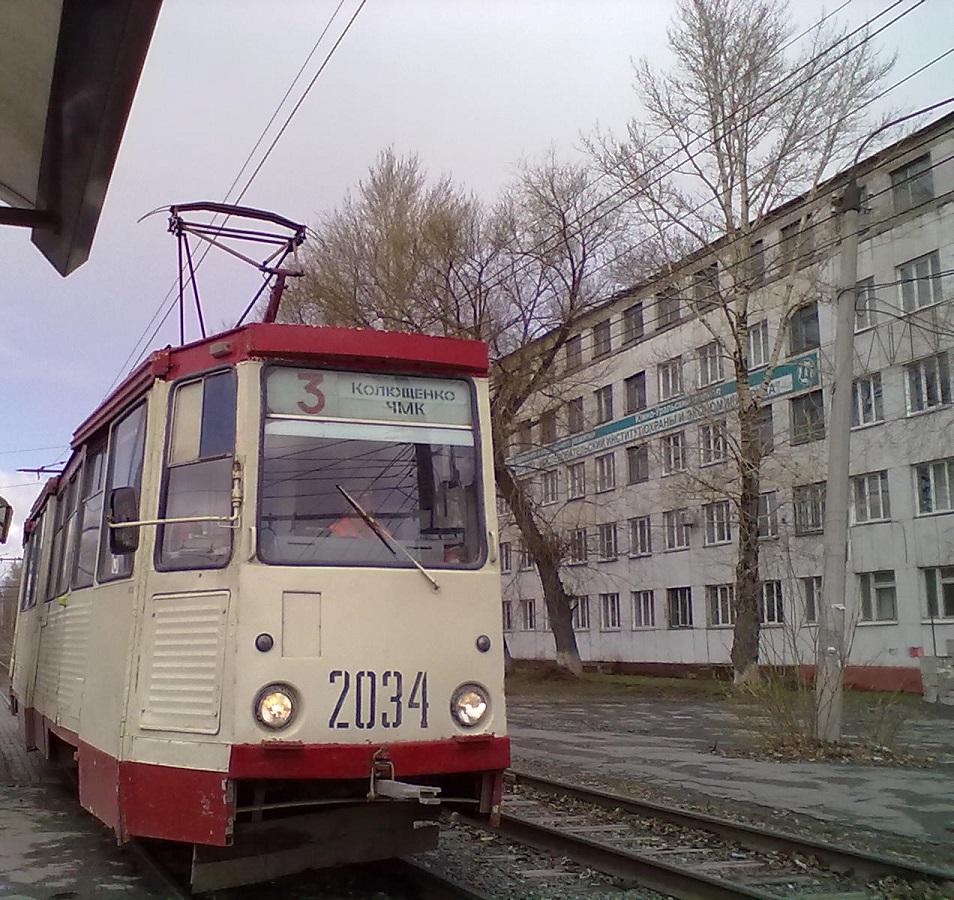 Челябинск. 71-605А (КТМ-5А) №2034