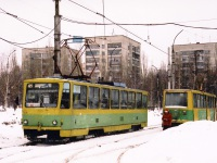 Липецк. 71-605 (КТМ-5) №2213, Tatra T6B5 (Tatra T3M) №2141