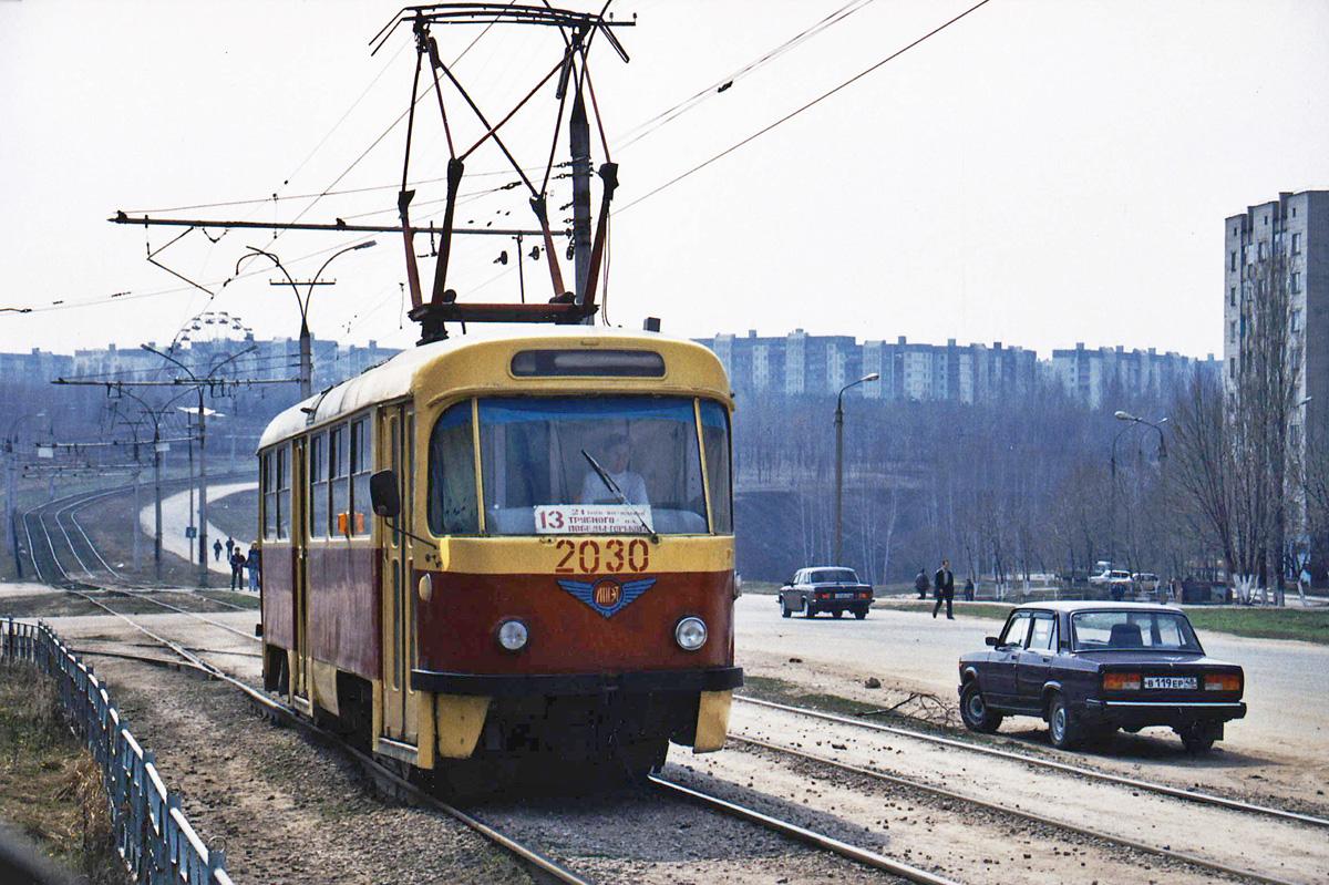 Липецк. Tatra T4D №2030
