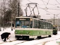 Липецк. 71-605 (КТМ-5) №2213, Tatra T6B5 (Tatra T3M) №2110