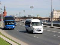 Москва. Higer KLQ6122B х147хс, Mercedes-Benz Sprinter 515CDI в002оа