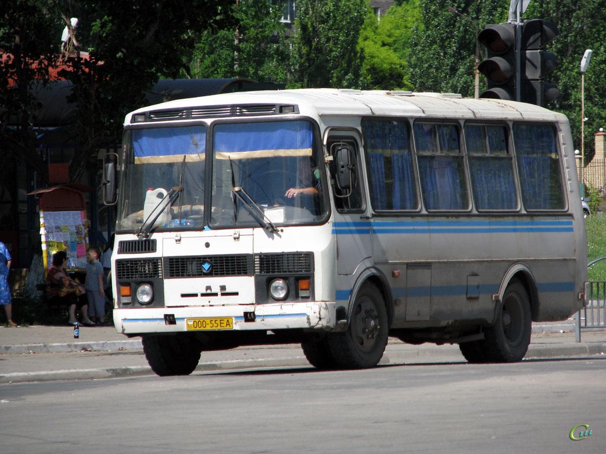 Мариуполь. ПАЗ-3205 000-55EA