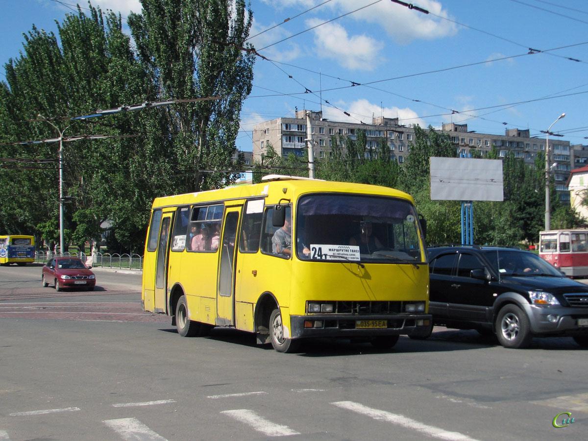 Мариуполь. Богдан А091 035-95EA