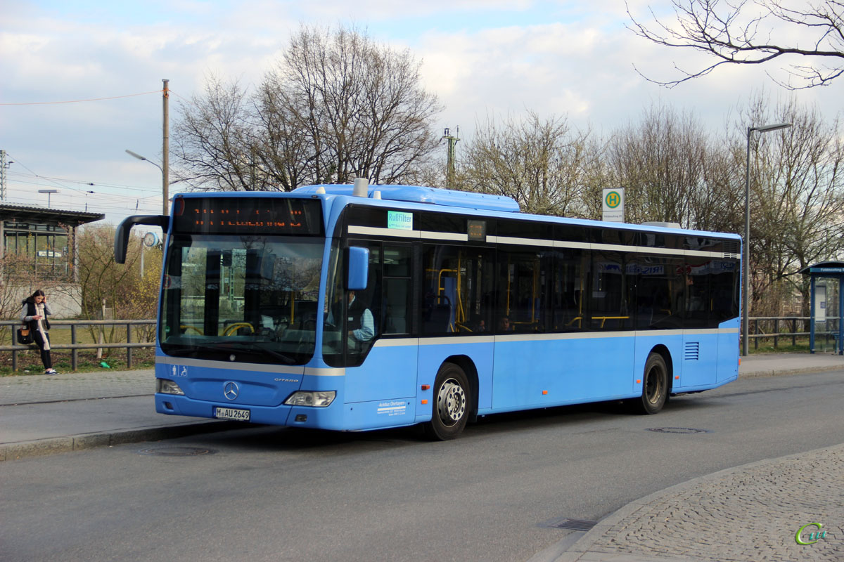 Мюнхен. Mercedes-Benz O530 Citaro M-AU 2649