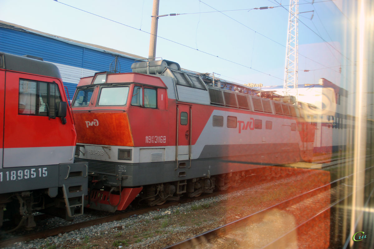 Нижний Новгород. ЧС4т-316