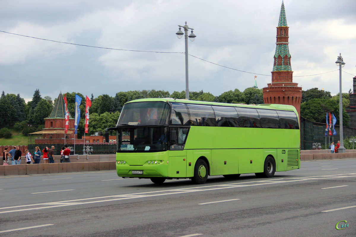 Москва. Neoplan N1116 Cityliner в243ор