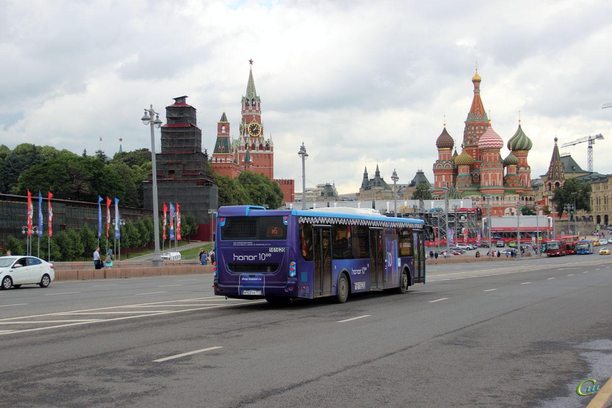 Москва. ЛиАЗ-5292.65 в922уа