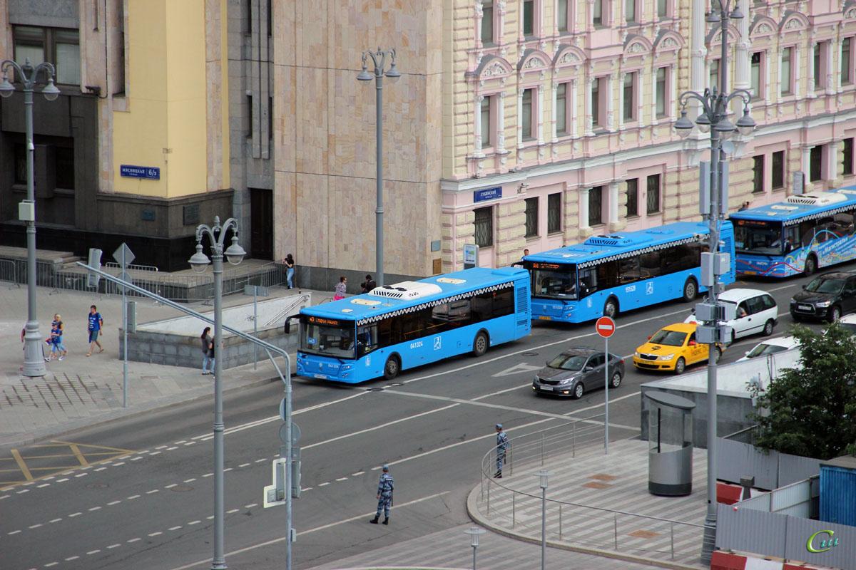 Москва. ЛиАЗ-5292.65 р349ув